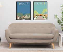 Art prints from Bogotá and Santa Marta, Colombia