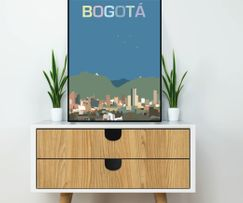 Art print from Bogotá, Colombia