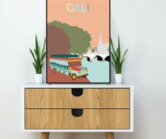 Art print from Cali, Colombia