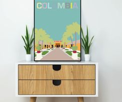 Art print from Santa Marta, Colombia
